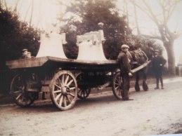 St Firmin's church bells taken down to recast 1907